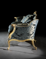 An Exceptional Giltwood Sofa Attributed to Thomas Chippendale
