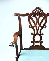 A Rare George II Mahogany Double Chairback Settee