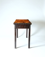 A Rare George II Period Carved Mahogany Card Table