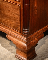 A Fine George III Period Mahogany Chest on Chest