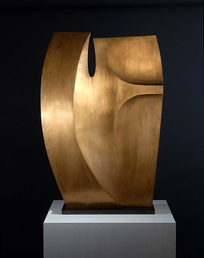 Slim Bronze No. 3 (Large version) Opus 347, 1973