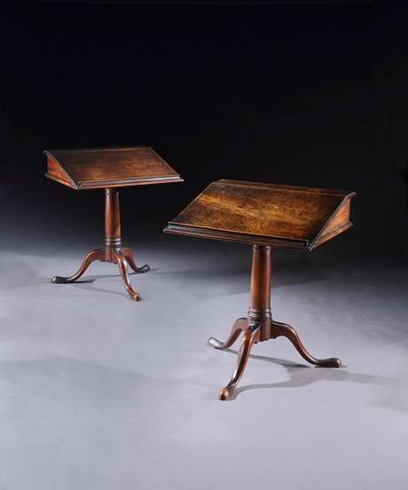 The Trinity College Mahogany Reading Tables by Richard Shepherd