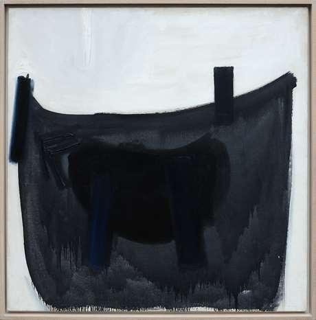 Blue Black & Grey Wedge, 1959