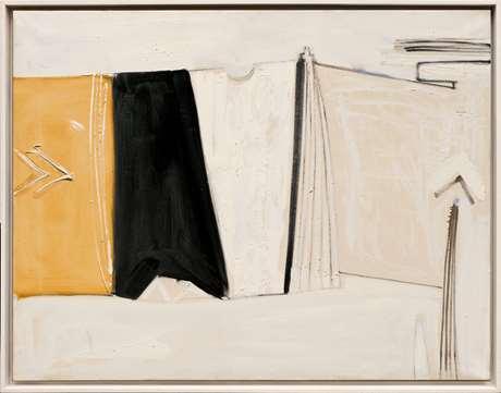 Black, White and Ochre Figure, 1959